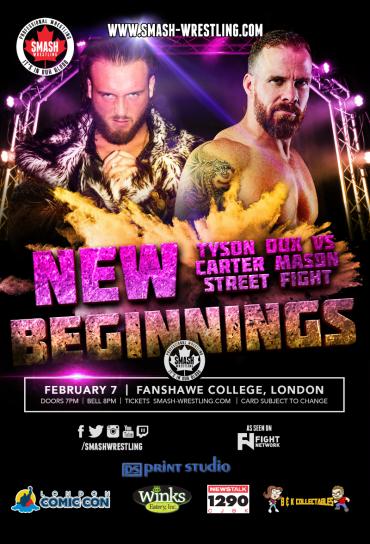 Smash Wrestling New Beginnings