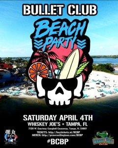 Bullet Club Beach Party