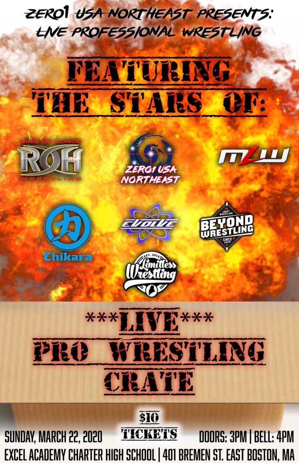 live pro wrestling crate