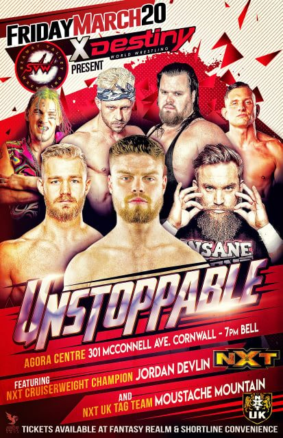 Destiny Wrestling Unstoppable