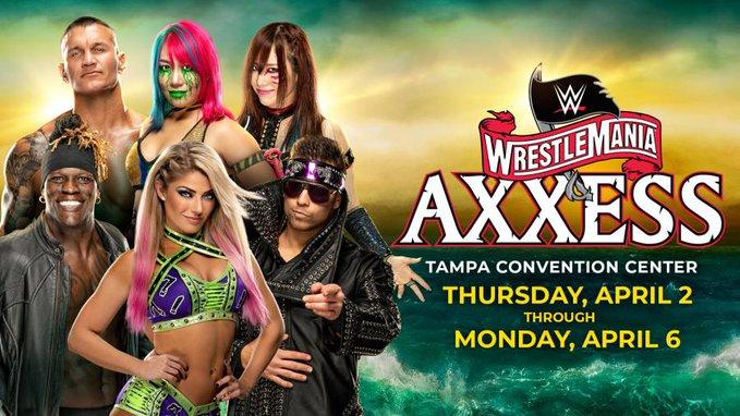 WrestleMania Axxess 2020