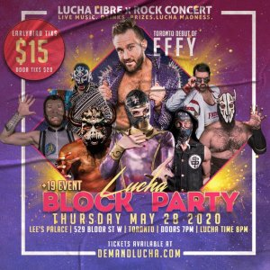 Lucha Block party