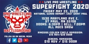 SuperFight 2020 wrestling Battleground