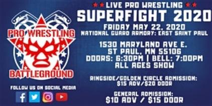 SuperFight 2020 wrestling Battleground