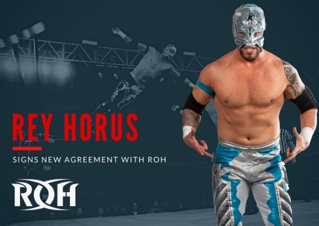 Rey Horus Signs New ROH Contract
