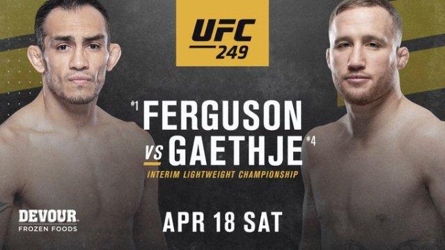 UFC 249   Gaethje vs Ferguson