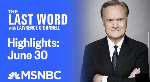 The Last Word with Lawrence O'Donnell Highlights | June 30 2020