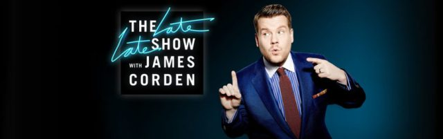 James Corden Guests | CBS Late Late Show | September 14 – 18