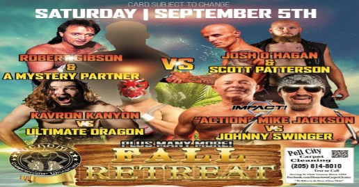 fall retreat wrestling
