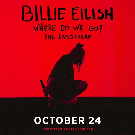 "Billie Eilish ""Where Do We Go?"" Livestream 