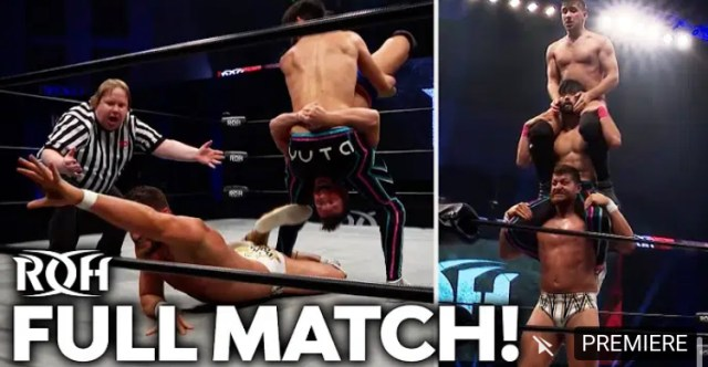 Tony Deppen vs Wheeler Yuta vs Dak Draper | Ring of Honor Free Match