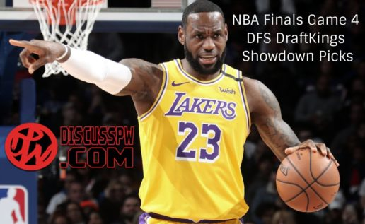 NBA Finals Game 4 DFS DraftKings Showdown Picks | Lakers vs Heat