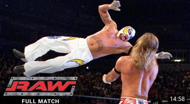 Shawn Michaels vs Rey Mysterio | WWE Free Match Posted
