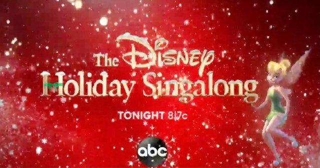 "ABC's ""The Disney Holiday Singalong"" Highlights"