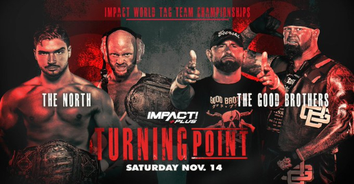 "IMPACT Wrestling ""Turning Point"" 2020 Updated Card"