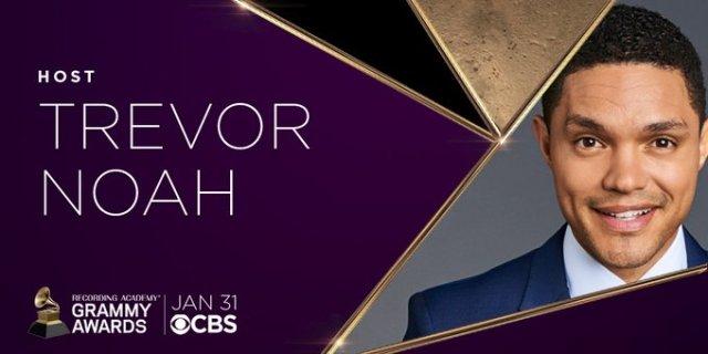 Trevor Noah to Host 63rd Annual Grammy Awards