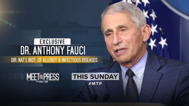 """NBC: """"Meet The Press"""" with Dr. Fauci 