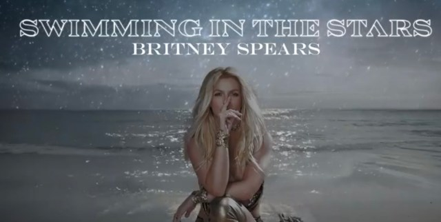 """Britney Spears new single """"Swimming In The Stars"""" Now Available"""