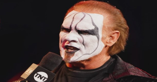 "Sting's First AEW Match Announced for ""Revolution"""
