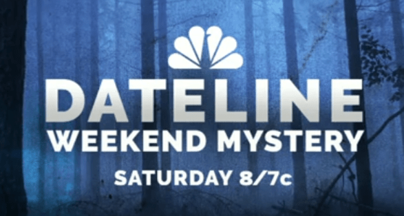 """Dateline NBC Weekend Mystery """"The Premonition"""" Preview 