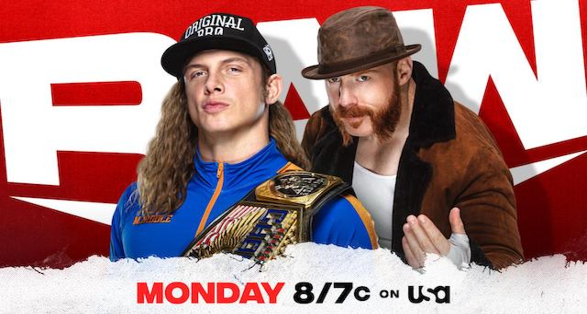 WWE Monday Night Raw March 29 2021 Preview