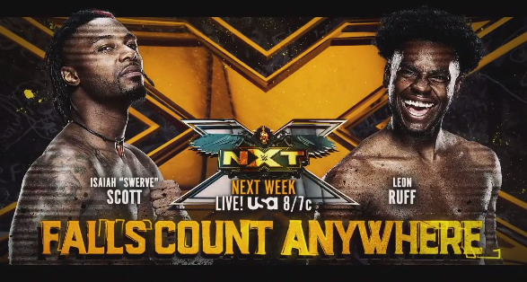 Matches Announced for Next Week's Episode of WWE NXT