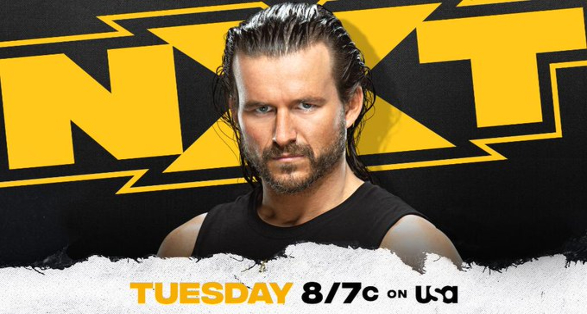 Adam Cole Interview Announced for this Week's WWE NXT