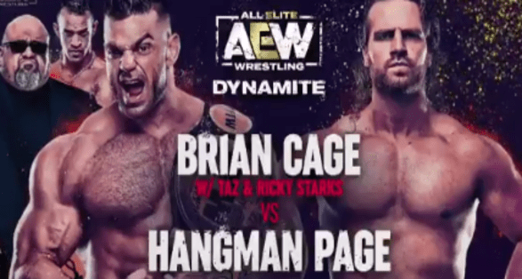 Matches Announced for Next Week's (April 28) AEW Dynamite