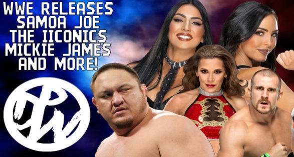 wwe releases