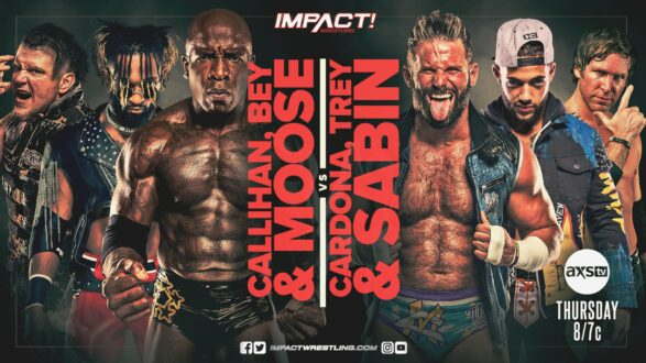 IMPACT Wrestling May 13 Updated Card