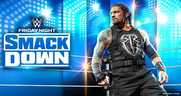 WWE SmackDown in Wilkes-Barre Pennsylvania on October 29 2021
