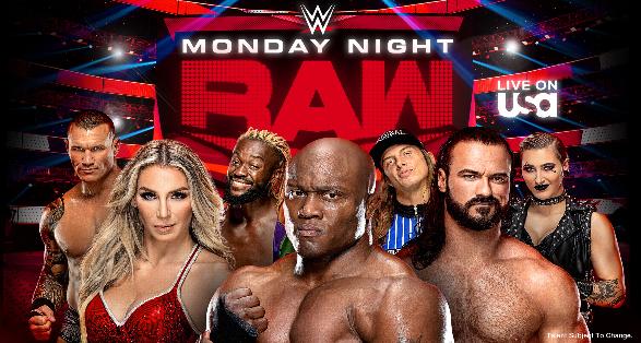 WWE Raw in Wilkes-Barre Pennsylvania on February 21 2022