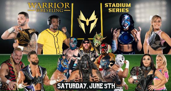 Warrior Wrestling June 5th Updated Card | Purrazzo, Cardona, Warhorse!