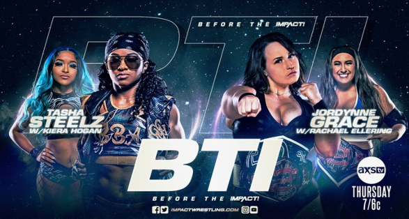 Jordynne Grace vs Tasha Steelz set for BTI | Booker T's IMPACT Debut