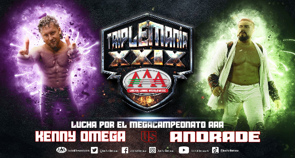 """Lucha Libre AAA """"TripleMania XXIX"""" Results from August 14 2021"""
