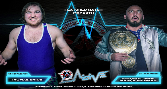 """AAW Pro Wrestling """"Alive"""" Matches & Streaming Info   May 29 2021"""