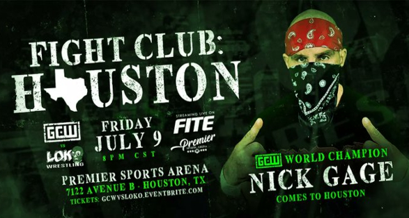 """GCW """"Fight Club: Houston"""" Quick Results   Game Changer Wrestling"""
