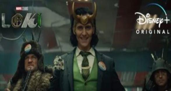 "New Official Trailer for Marvel Studios Disney Plus Series ""Loki"""