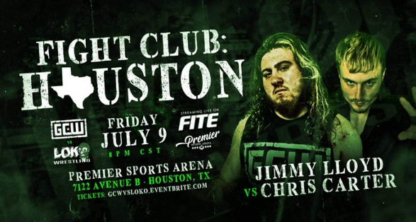 Updated Card for GCW Fight Club: Houston