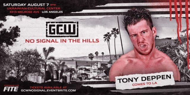 Tony Deppen set for GCW Los Angeles | Tickets Available Friday