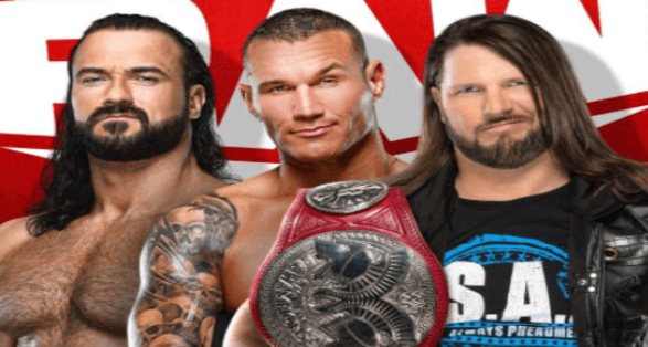 McIntyre/Styles/Orton MitB Qualifier added to Raw | Updated Card