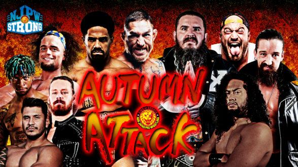 njpw texas autumn attack