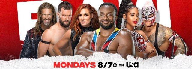 WWE Monday Night Raw in Houston Texas on October 25 2021