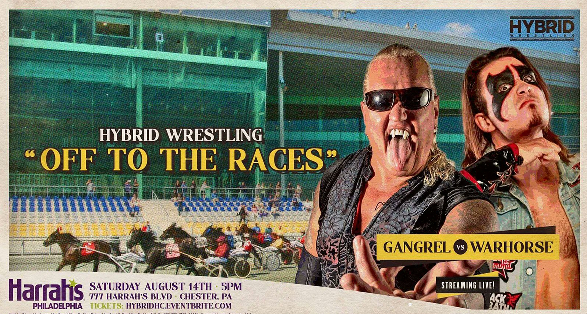 """Hybrid Pro Wrestling """"Off To The Races"""" Results from August 14 2021"""