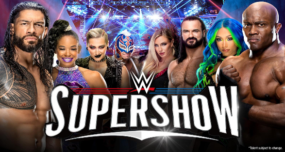 WWE Denver Colorado Supershow Results from August 22 2021