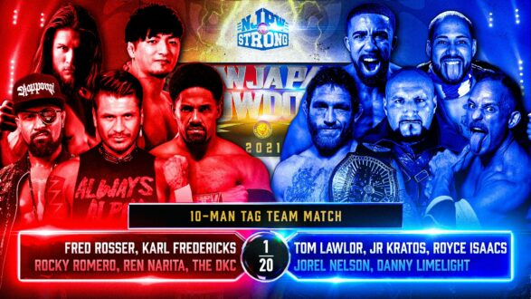 """10 Man Tag & More added to """"New Japan Showdown"""" 