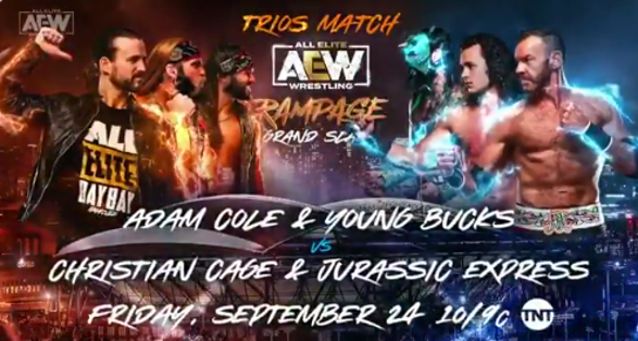 """AEW Rampage """"Grand Slam"""" Queens September 24 2021 Preview"""