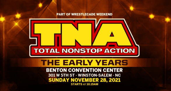 """James Storm set for WrestleCade 2021 """"TNA Early Years Reunion"""""""
