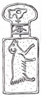 fg. 11 - Moneta in bronzo della dinastia Chou (Cina, XII - III sec. a.C.) Valore della moneta: 10 pecore.