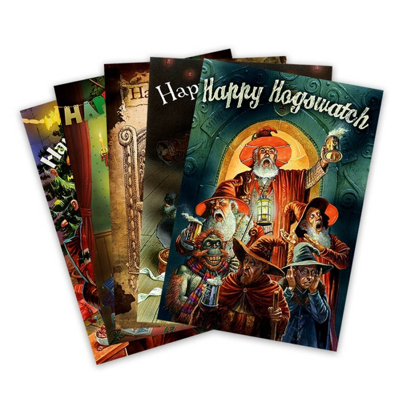 Hogswatch Cards Discworld Emporium